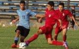 Selección Sub 15 de Perú perdió amistosos ante Uruguay