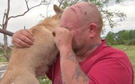 Encontró a su perro tras perderlo en un tornado [VIDEO]