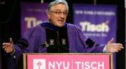 Robert De Niro ofreció un controvertido discurso de graduación