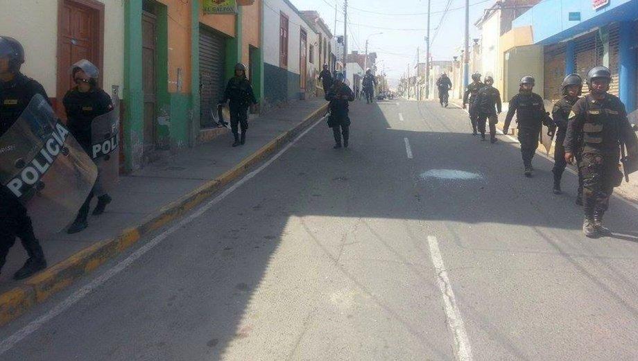 Cocachacra amaneció tranquilo tras 63 días de enfrentamientos