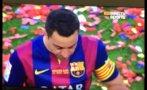 Xavi se retiró entre lágrimas del Camp Nou [FOTOS]