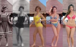 Mira la evolución de más de 120 años del bikini [VIDEO]