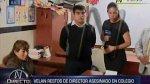 SJL: familia de director asesinado niega disputa por colegio - Noticias de crimen pasional