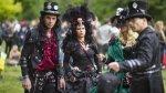 La oscuridad del Festival Gótico de Leipzig en Alemania - Noticias de modas