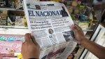 """Venezuela: Director de """"El Nacional"""" llevará su caso a la CIDH - Noticias de congreso"""