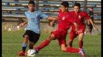 Selección Sub 15 de Perú perdió amistosos ante Uruguay - Noticias de piero vívanco