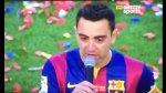 Barcelona: Xavi se retiró entre lágrimas del Camp Nou - Noticias de andrés iniesta