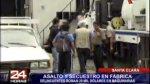 Santa Clara: asaltan y secuestran a trabajadores de fábrica - Noticias de robo