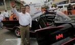 El candidato mexicano que hace campaña en batimóvil