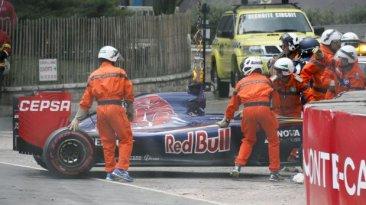 Fórmula 1: piloto de 17 años sufrió duro accidente en GP Mónaco