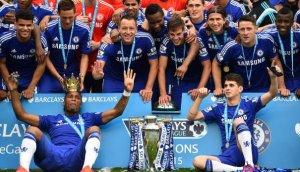 Chelsea campeón venció 3-1 a Sunderland por la Premier League