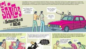 Los Saicos: el demoledor sonido de Lince en un cómic