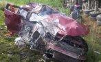 Accidente en Carretera Central dejó dos personas muertas
