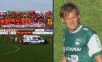 Futbolista falleció en Argentina tras desmayarse en partido