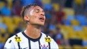 Paolo Guerrero falló increíble ocasión de gol en Corinthians
