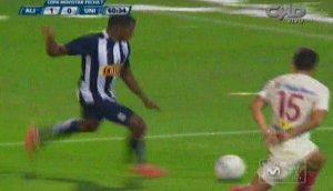 Carlos Preciado marcó el golazo del triunfo de Alianza Lima