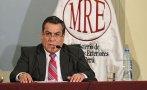Adrianzén critica a ministro boliviano por Belaunde Lossio