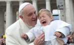"""Papa Francisco: """"Dos o tres palmadas a un chico no vienen mal"""""""