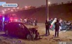 Costa Verde: choque entre taxis dejó un muerto en San Miguel