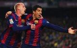 Barcelona: Suárez y Mathieu en duda para final de Copa del rey