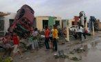 México: Tornado dejó al menos 11 muertos y 300 casas destruidas