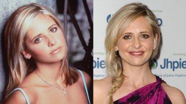 """""""Buffy, la cazavampiros"""": el antes y el después de sus actores"""