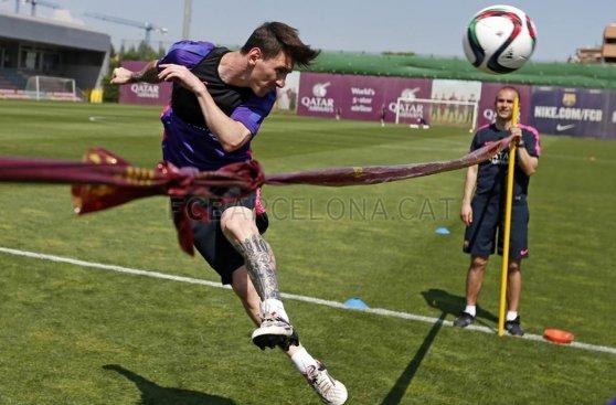 Barcelona: así se entrenan para la final de Copa del Rey