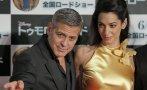 """George Clooney y esposa en premiere de """"Tomorrowland"""" en Tokio"""