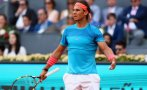 """Rafael Nadal con tarjeta naranja"", por Liliana Michelena"
