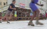 Cuba: traen patinaje sobre hielo a Bienal de La Habana [VIDEO]