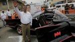 El candidato mexicano que hace campaña en batimóvil - Noticias de series de televisión