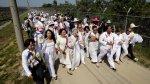 Activistas cruzan la frontera entre las dos Coreas por la paz - Noticias de
