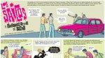 Los Saicos: el demoledor sonido de Lince en un cómic - Noticias de pancho