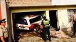 VMT: combi choca contra una vivienda y mata a dos personas - Noticias de accidentes de tránsito