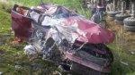 Accidente en Carretera Central dejó dos personas muertas - Noticias de accidentes en carreteras