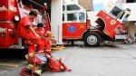 San Miguel: mujer bombero murió atropellada por una cúster - Noticias de gladys paz