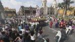 Colorido pasacalle y fiesta religiosa en la Plaza de Armas - Noticias de trajes típicos