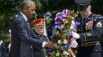 """Obama honra a """"héroes caídos"""" y reitera promesa de dejar Iraq - Noticias de guerra de coreas"""