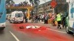 Panamericana Sur: mujer murió al caer de motocicleta en Surco - Noticias de accidentes de tránsito