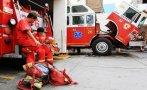 Suspenden a empresa de transporte que arrolló a mujer bombero