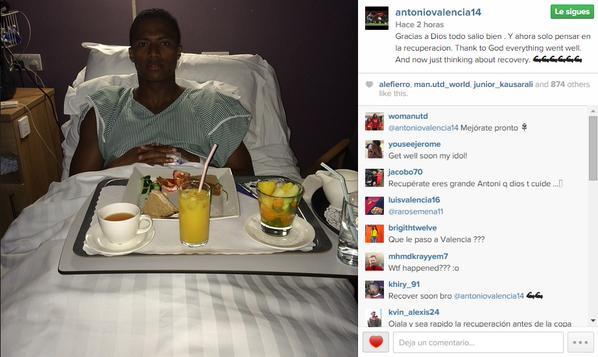Valencia publicó esta foto en Instagram.