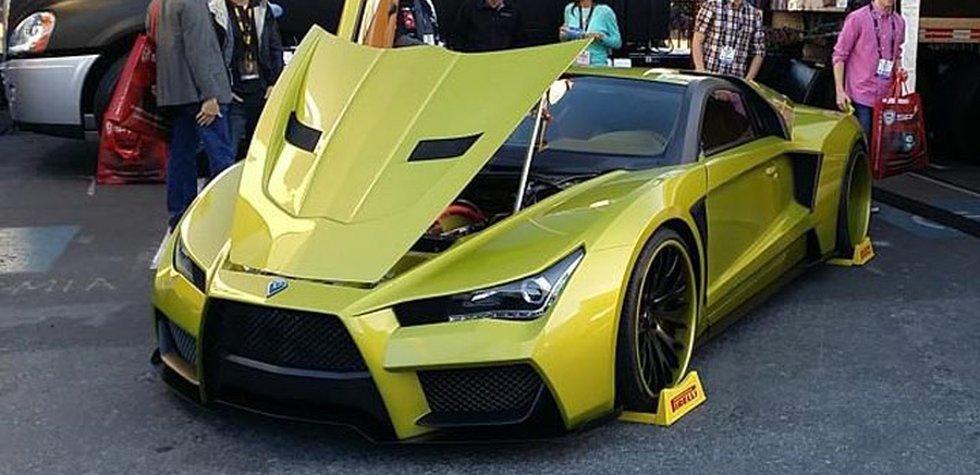 Este será el auto del Joker en la película Suicide Squad