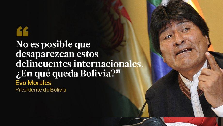 Evo Morales y 10 duras frases contra Martín Belaunde Lossio