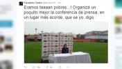 Periodista de ESPN se burló de conferencia de Ricardo Gareca