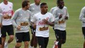 Farfán encabezó primer entrenamiento de Perú hacia Copa América