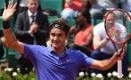 Roger Federer venció a Granollers y sigue en Roland Garros