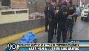 Los Olivos: presunto marca murió tras asalto frustrado
