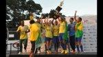 Brasil ganó la Copa América... de fútbol callejero - Noticias de peru campeón