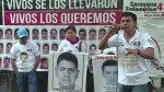 Padres de desaparecidos de Ayotzinapa protestan en Argentina - Noticias de hilda saldarriaga