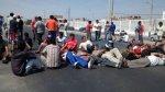 Chimbote: bloquean vía por incremento del precio del GLP - Noticias de economía